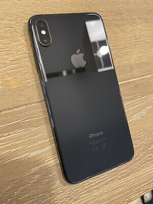 Apple iPhone XS Max - 256GB - Space Grey (Unlocked) SMASHED - 100% Working!!