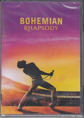 DVD Bohemian Rhapsody Queen and Freddie Mercury New 2018