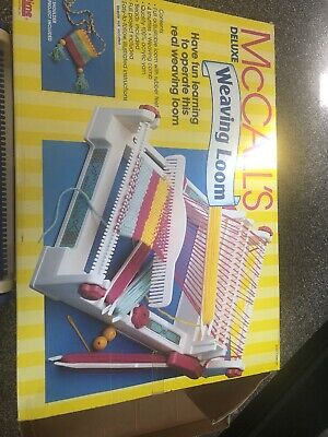 McCalls Deluxe Weaving Loom - Not Complete