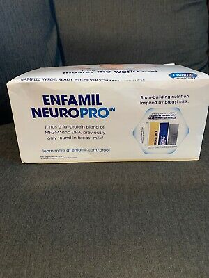 Enfamil Sample Pack Box Neuropro Gentlelease Infant Baby Formula Expires 2021