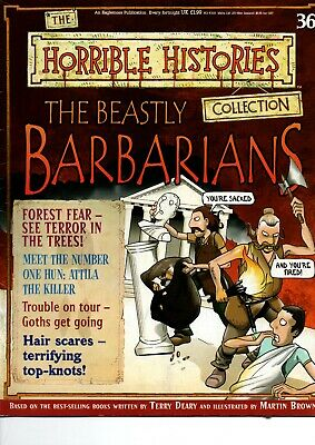 The Horrible Histories Collection Magazine No 36: The Beastly Barbarians