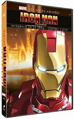 Iron Man, Series Animated Box 2 DVD New Blister Pack