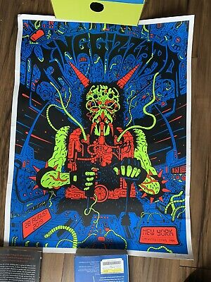 King Gizzard and the Lizard Wizard Poster NYC 112/200 Rare (Good condition)