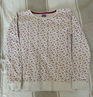 Girls Ditzy Print Jumper Age 10-11 Years