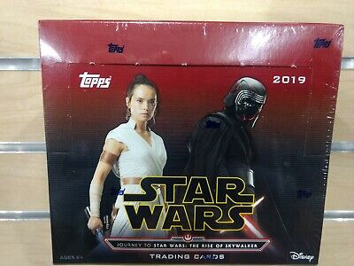 2019 Topps Star Wars Trading Cards Factory Sealed 24 Pack Box Rise Of Skywalker