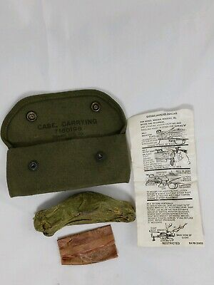 WWII M1 Garand or Carbine Grenade Launcher Sight & Carrying Case 1944
