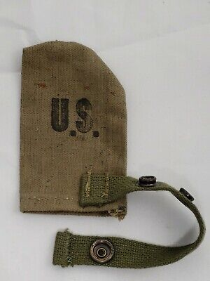 Wwii Us Army M-1 Muzzle Cover 1944 Dave Mfg. Co.