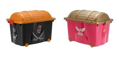 Toy Box Treasure Chest Storage Box For Toys Kids Playroom Container Organiser