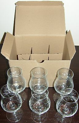 WHISKY AND COGNAC TASTING GLASS - 6 glasses