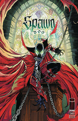 Spawn #300 (2019 Image Comics) J Scott Campbell Variant NM+