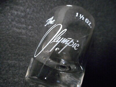 Vintage The Olympic Club San Francisco  Shot Glass