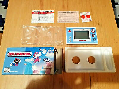 Super Mario Bros Nintendo Game & Watch Full Box Complete Collector