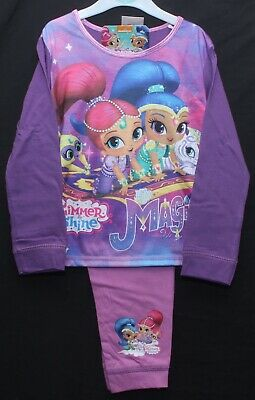 "SHIMMER & SHINE Pyjamas Girls Official ""It's MAGIC!"" PJs Sizes 18 months-5 years"