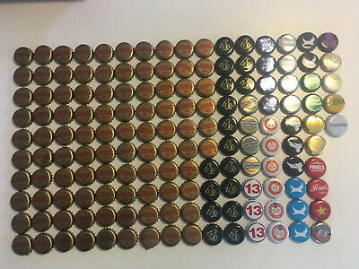 VARIOUS Used Beer Cider Bottle Tops Caps x 155 Collectable Crafts