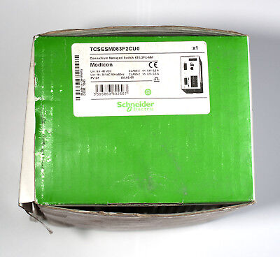 Schneider Electric Ethernet TCP/IP managed switch ConneXium TCSESM083F2CU0