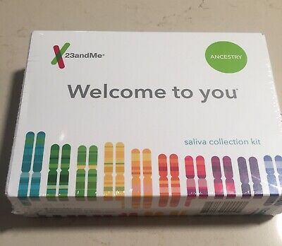 BRAND NEW, sealed 23andMe Ancestry DNA Test Kit + PREPAID Lab 23 and me