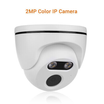1080P IP Camera 3.6mm Onvif Network Smart Color Night Vision CCTV Security Speed