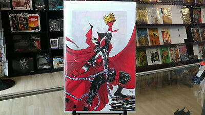 Spawn #301 Todd Mcfarlane 1:25 Incentive Virgin Variant New Nm
