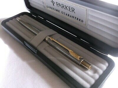 Parker 75 Classic Sterling Silver Ballpoint Pen / New In Box / Made In Usa