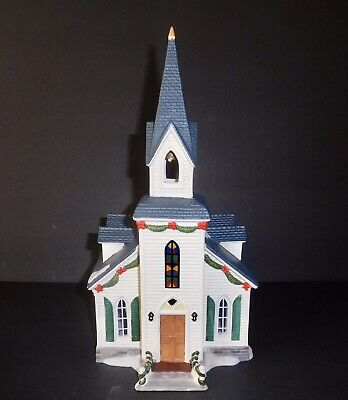 """Holiday Inspirations Lighted O'well Christmas Village """"Grace Church"""""""