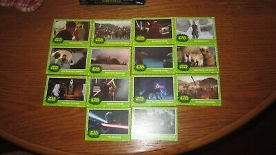 "Star Wars ""Journey To The Rise Of Skywalker"" 2019 (Green Parallel ""You Pick"")!!!"