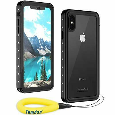 Waterproof iPhone Xs Max Case, Rugged Heavy Duty Support Wireless Charging Full