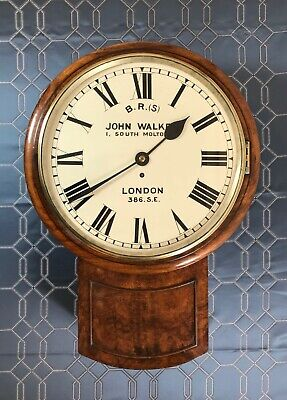 Antique Early (#386) South Eastern Railway Clock from Chelsfield Station