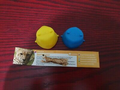 RARE Yowie Super Series 3 Cheetah- (Acinonyx jubatus)