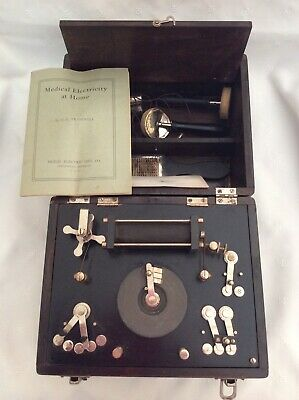 Vtg Medical Electricity At Home Therapy Quack Medicine Signal Electric Co Box