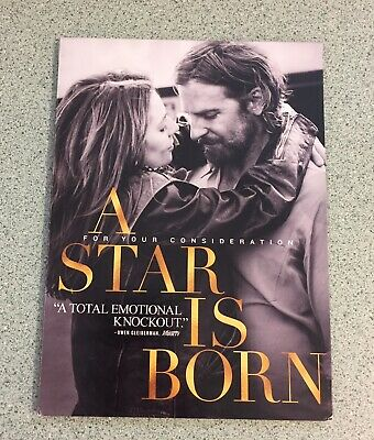 A Star is Born Academy Awards Oscars Screener DVD FYC 2018 Gaga Bradley Cooper