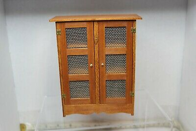 Doll House Miniature Country Kitchen Cupboard