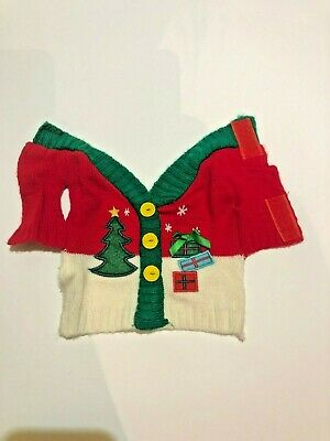 All Living Things Halloween Christmas Sweater Small Pet Costume  / Guinea Pig