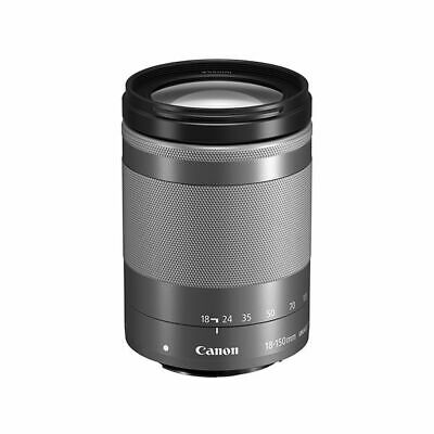 Near Mint! Canon EF-M 18-150mm f/3.5-6.3 IS STM Silver - 1 year warranty