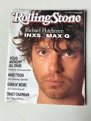 Rollingstone Magazine Issue 438 1989 Michael Hutchence INXS