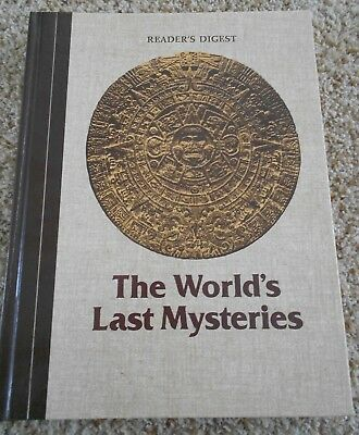 READERS DIGEST THE WORLDS LAST MYSTERIES Hardcover BOOK 1982