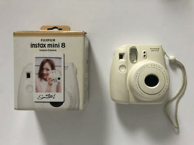Fuji Instax Mini 8 Camera - White - Orginal Box