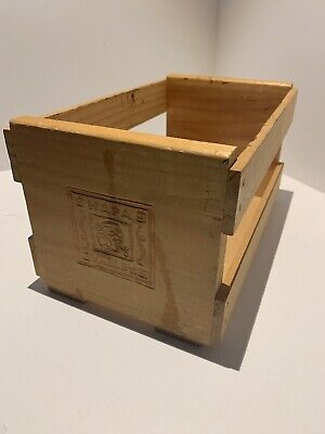 Napa Valley Box Company Wood Crate CD Holder Great condition!