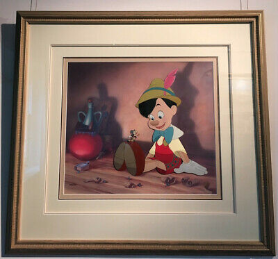 PINOCCHIO Anytime You Need Me, Limited Edition Disney Animation Cel