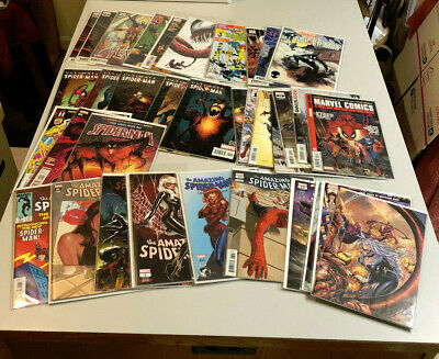 VENOM AMAZING SPIDERMAN CARNAGE LOT MARVEL COMICS #1's VARIANTS SYMBIOTE GOLD NR