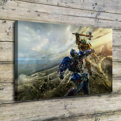 "12""x18""Transformers HD Canvas Prints Painting Home Decor Picture Wall Art Poster"