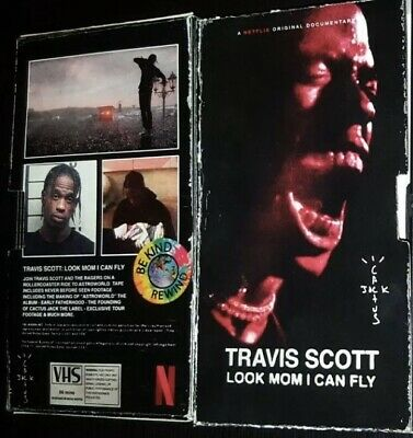 Travis Scott Look Mom I Can Fly VHS