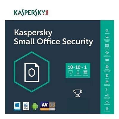 Kaspersky Small Office Security 1 Server 10 PC 10 Device 1 Anno - Fatturabile