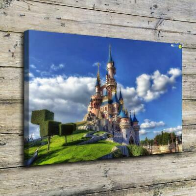 Castle Rapunzel HD Canvas Print Painting Home Decor Picture Room Wall Art Poster