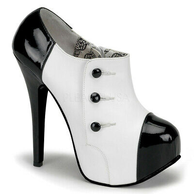 TEEZE-20 Button Consealed Ankle Boots