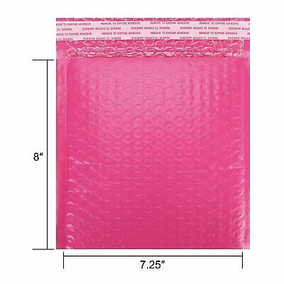 25Pcs Poly Bubble Mailers 7.25 x 8 Padded Envelopes Self Seal Bags Pack Shipping
