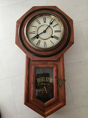 Antique chiming wall clocks
