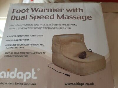Aidapt dual speed variable foot warmer and massager