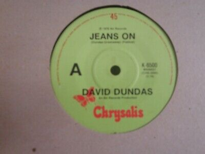 DAVID DUNDAS - 7Single - JEANS ON - SLEEPY SERENA -1976 - OZ copy