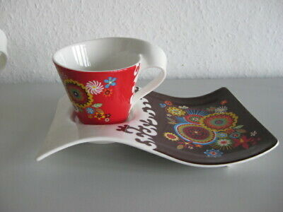 Villeroy /& Boch New Wave ♥ Faces ♥ Kaffeetasse /& UT ♥ Faces Marc Manu 4.05 ♥