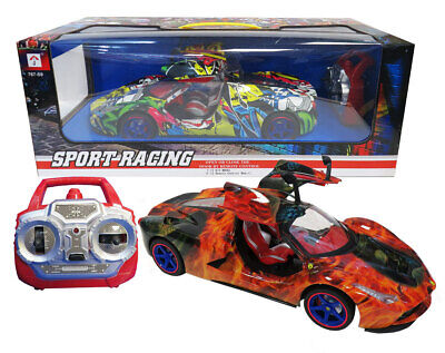 Remote Control Gull Wing Multi Coloured  Battery Operated  Sports Racing Car 580